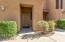 Private, covered entrance to the condo