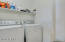 Large, conveniently located laundry room