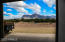View of the Superstition Mountains from the barn.