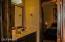 Jack and Jill bathroom (3rd bathroom)