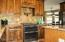 New kitchen counters, cabinets, appliances, floors.