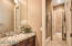 Jack and Jill bathroom for Bedroom #2 and #3.