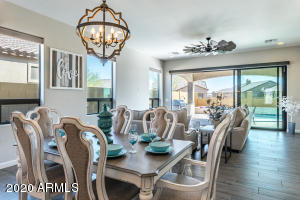 Open Concept kitchen, dining and family