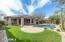 Lush grass yard, Flagstone decking, PebbleTec Pool and Spa.
