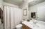 This bathroom is en suite