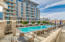 Engaging olympic sized pool and deck areas.