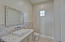 Hallway half bath