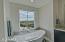 En suite bathroom in each bedroom