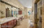 Steam shower & walk-in shower, along with jetted tub