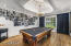 Flexible room can be a formal dining room or a fun billiards room