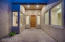Private Courtyard Entry with Pavers