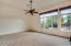 """Master Bedroom Split from Secondary Bedrooms- 19'1"""" x 16' with Pool View"""