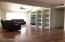 Family Room with built in Entertainment center