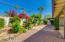The north-facing back yard is the most desirable exposure in sunny Arizona!