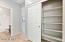 Linen Closet in Bedroom Hall