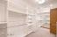 Plenty of closet space and organization!