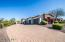 Side entry garage with ample driveway parking space.