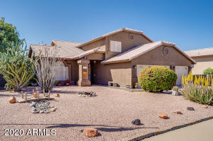 Welcome to your 2,517 SqFt home with plenty of potential and beautiful desert landscaping. That is warm & welcoming right when you arrive.
