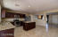 Breakfast Bar and Dining area between kitchen and Family Room - Wired for a chandelier