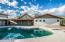 Fenced pool and plenty of room to design your own desert oasis!