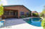 Plenty of space to enjoy an afternoon by the pool or relaz under your covered patio.