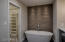 Master bath w/custom main closet