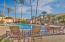 Community heated swimming pool