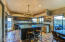 Phenomenal family kitchen w/cement counters, ample storage and butlers pantry