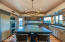 Large island and cabinets galore