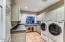 laundry with cement sink