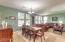 COMBINED FORMAL DININGROOM/LIVING ROOM