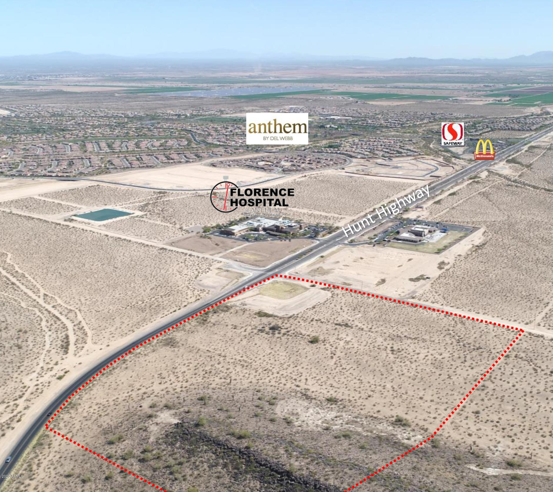 Property for sale at 0 N Hunt Highway, Florence,  Arizona 85132
