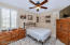 Guest Bedroom located directly across from ADA Remodeled Bath
