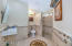 ADA Configured Bath with zero grade Roll-In Shower