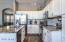 Beautiful backsplash and granite countertops