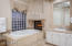 Master Bathroom Tub/Fireplace