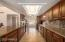 Lined with storage, Stainless Steel Appliances and Granite Counters