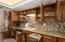Must see to appreciate these custom cabinets. They are one of a kind.