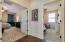 Master bedroom complete with double door entry!