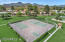 Private park maintained by HOA has tennis, pickleball, basketball and volleyball.