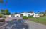 RV gate and garage.