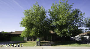 Large shade trees out front