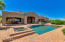 FULL VIEWS OF FOUR PEAKS FROM LIVING ROOM, MASTER, KITCHEN, POOL AREA.