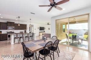 Dinning Room, Kitchen and Family Room
