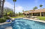 Serene Heated Pool With Water Feature