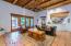 Saltillo tile and wood ceilings creates the unique southwest style