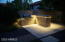 Fabulous custom BBQ with sophisticated feature lighting