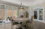 Glass French Doors off the Office/Den