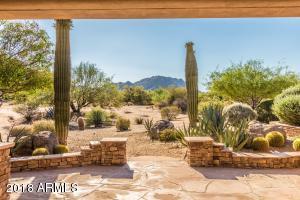 Backyard view of Granite Mtn