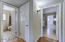 Bedroom Hallway accessed from living and family rooms.